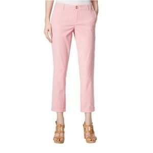 Tommy Hilfiger | Striped Capri Ankle Casual Pants
